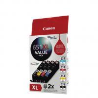 Canon CLI651XLVP 1 X CLI651XLC M Y BK