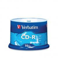Verbatim 50PK CDR D/LIFE+ 700MB 52X SPL