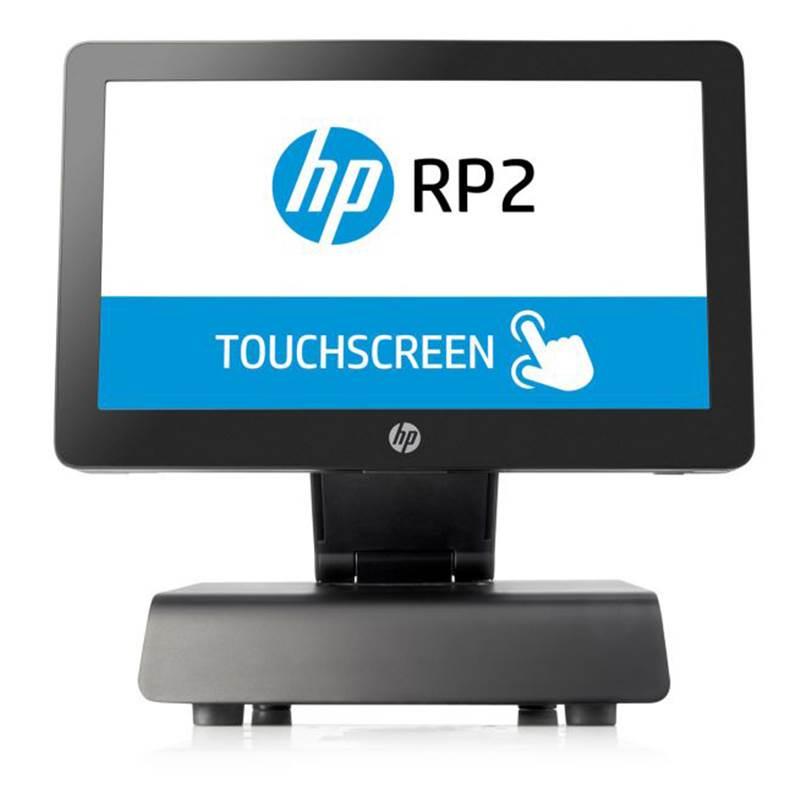 "HP RP2 2000 AiO POS Terminal J1900 128GB SSD 4GB Windows POS Ready 7 32bit - 14"" Resistive Touch"
