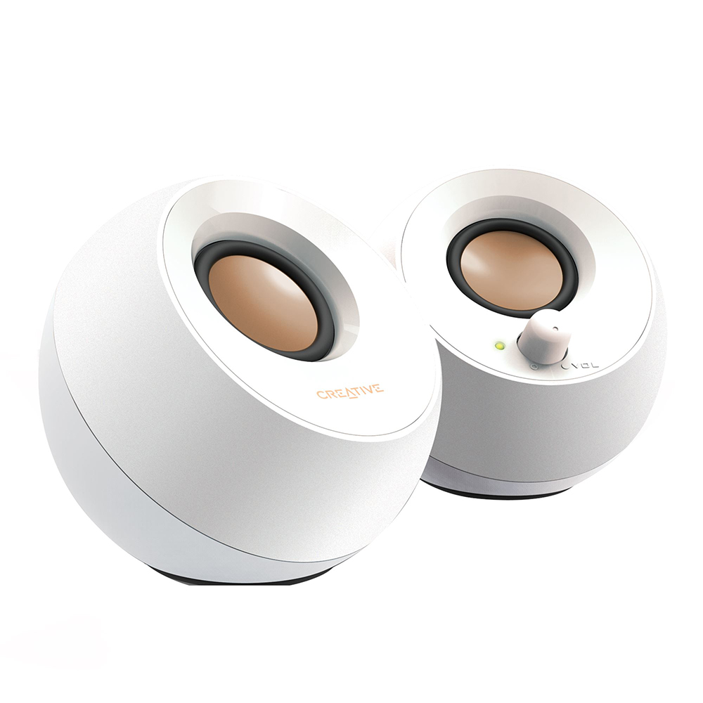 Creative Pebble 2.0 USB Speaker White