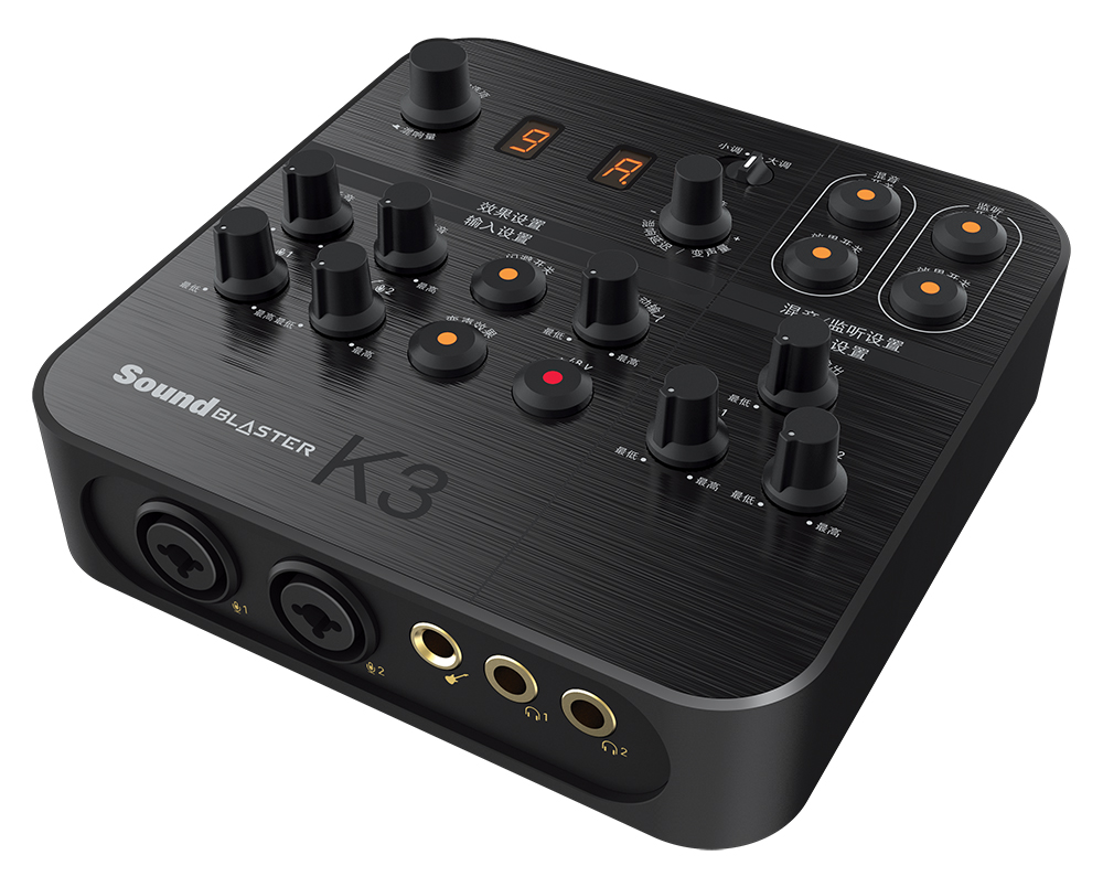Creative Sound Blaster K3 HD USB Audio Interface