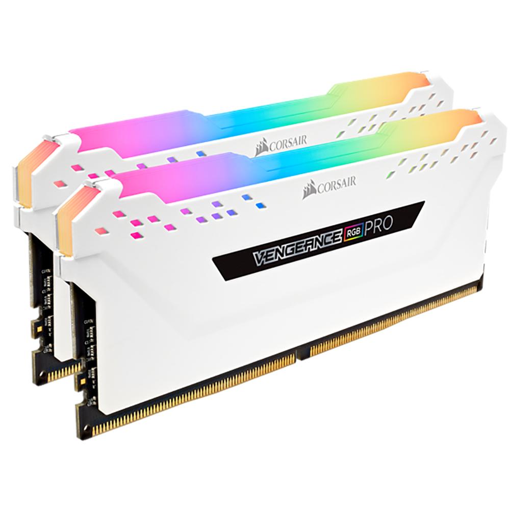 Corsair 16GB (2x8GB)CMW16GX4M2C3600C18W DDR4 3600MHz Vengeance Pro RGB