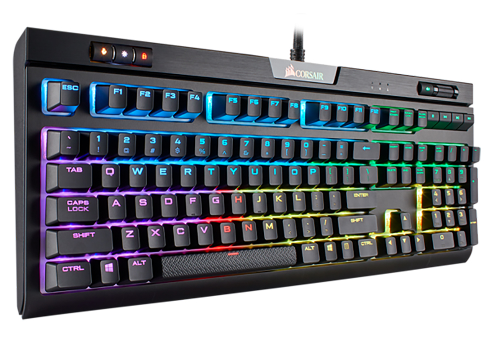 2c48ce17275 Corsair Gaming STRAFE Mk 2 RGB Mechanical Keyboard - MX Red - Umart ...