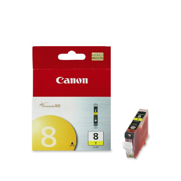 Canon CLI8Y YELLOW ink tank Chroma100