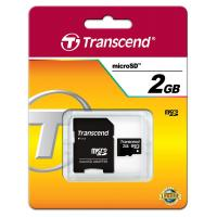 Micro Secure Digital Card 2Gb(Micro SD)Transcend
