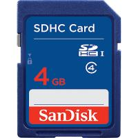 Secure Digital Card 4Gb(SD) SDHC Sandisk