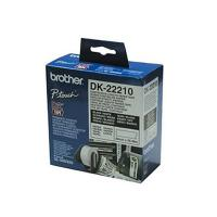 Brother DK-22210 White Continuous Paper Roll 29mmx30.48mm