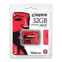 Compact Flash Card 32GB Ultimate 266X Kingston