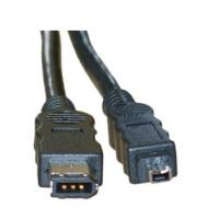 8ware Firewire IEEE 1394A Cable 6P-4P 5m