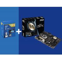 Intel i7 4790 CPU + Asus Z97-K Motherboard Combo