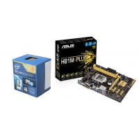 Intel i3 4160 CPU + Asus H81M-Plus Motherboard Combo