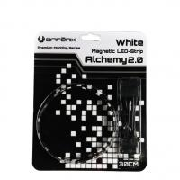 Bitfenix Alchemy White Magnetic LED Strips- 300mm, White color, 15x LEDs