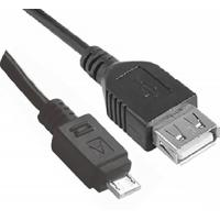 USB Cable A Female to Micro USB 5 Pin Male Adapter