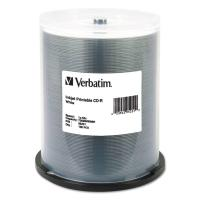 Verbatim DataLifePlus CD-R 80 Min White Inkjet Printable 50 Pack Spindle 52x