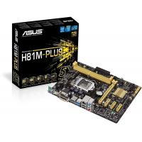 Asus H81M-Plus 2xDDR3 PCI-E 2xSATA3 4xUSB3.0 DVI-REFURBISHED