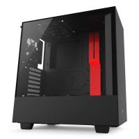 NZXT H500 Black/ Red Mid Tower