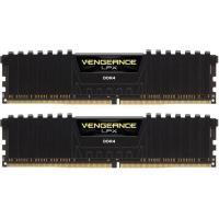 Corsair 32GB (2x16GB) CMK32GX4M2B3200C16 Vengeance LPX 3200MHz DDR4 RAM - Black