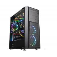 Thermaltake Versa H26 Tempered Glass Mid Tower Case - Black