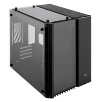 Corsair Crystal 280X Tempered Glass mATX PC Case - Black