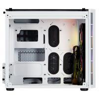 Corsair Crystal 280X Tempered Glass RGB mATX PC Case - White