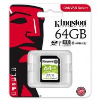 Kingston 64GB SDS/64GB SDHC Canvas Select