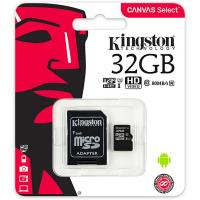 Kingston 32GB SDCS/32GB MicroSDHC Canvas Select