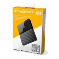 Western Digital My Passport 2TB Thin Black 2.5In USB 3.0
