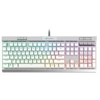 Corsair Gaming K70 MK2 RGB LED Special Edition Silver Mechanical Gaming Keyboard - Cherry Speed