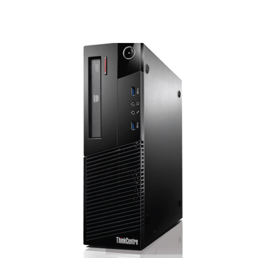Lenovo M83 SFF(10AN001KAU) I5-4460, 500G, 4G, DVDRW, INTEL HD, KB/M, W7P64(W8.1P-COUP) 3YOS