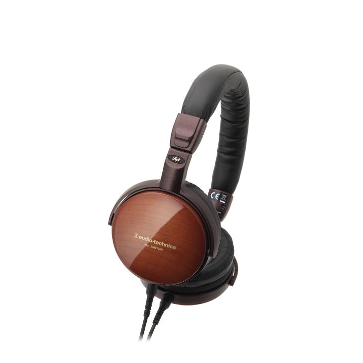 Audio-Technica ATH-ESW990H Portable Sycamore On-Ear Headphones