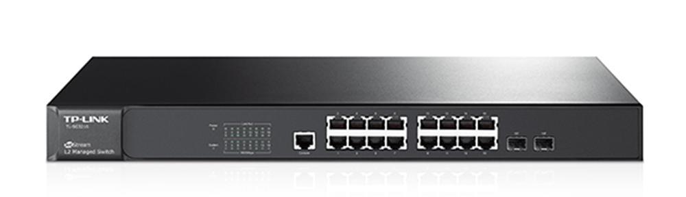 TP-Link TL-SG3216 16-Port Gigabit L2 Managed Switch