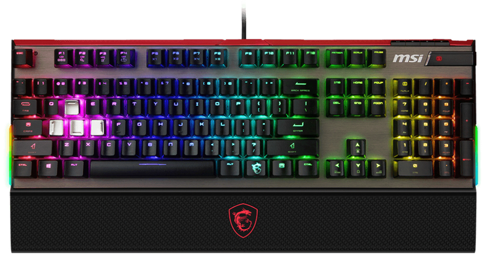 e085a510b65 MSI Gaming Vigor GK80 RGB Mechanical Keyboard MX Silver - Umart.com.au