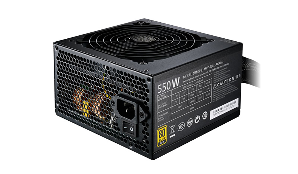 Cooler Master 550W MWE 80+ Gold Power Supply (MPY-5501-ACAAG-AU)
