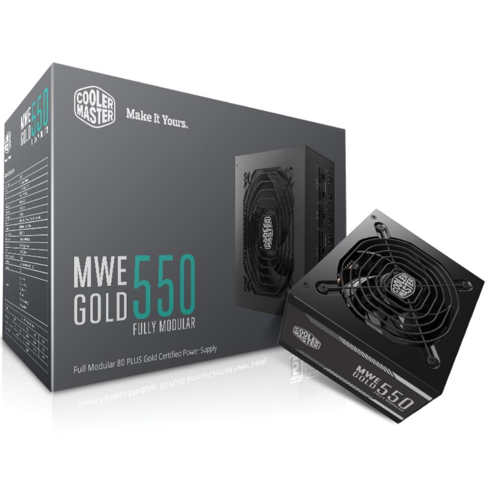 Cooler Master MWE Gold 550W 80 Plus Gold Modular Power Supply
