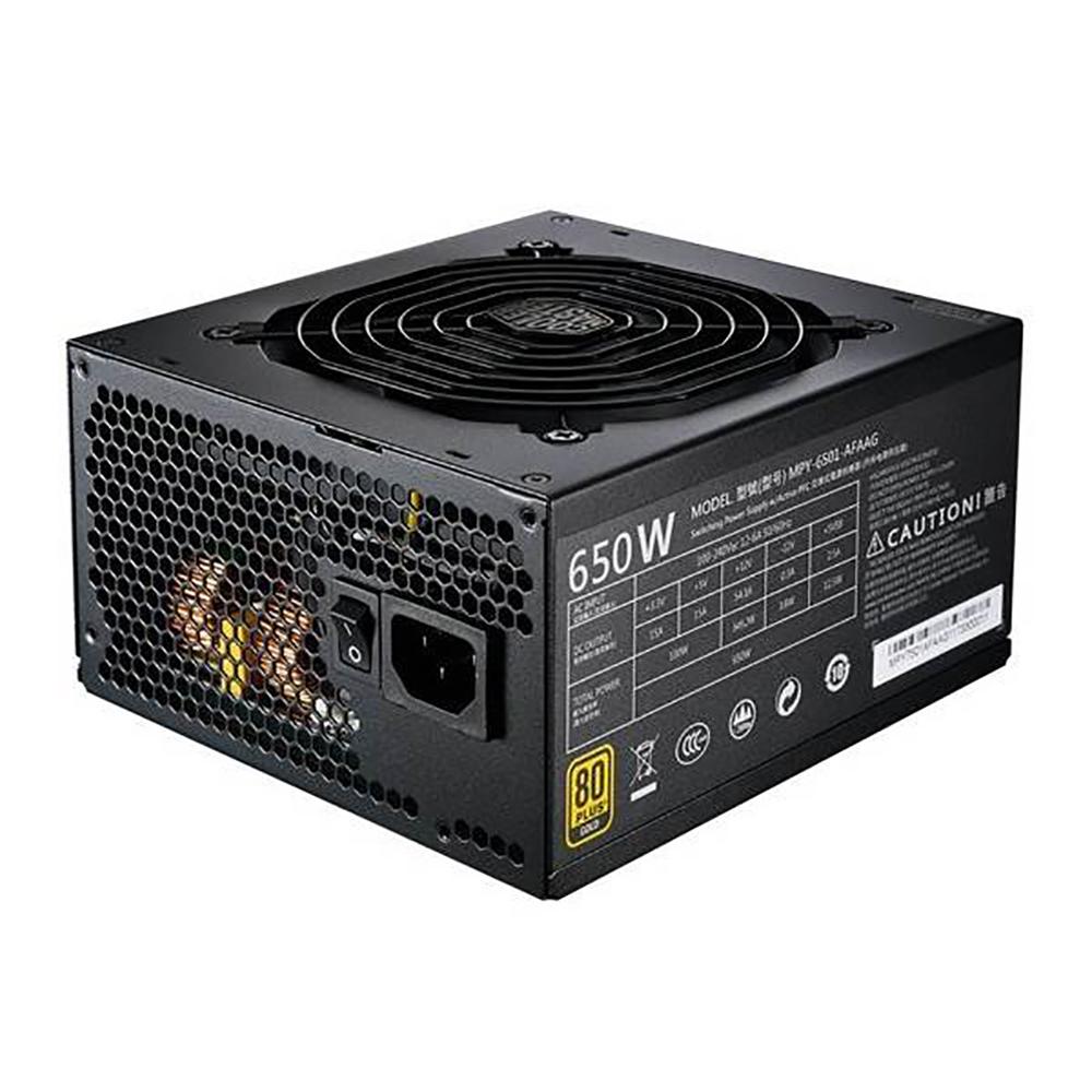 Cooler Master MWE Gold 650W 80 Plus Gold Modular Power Supply