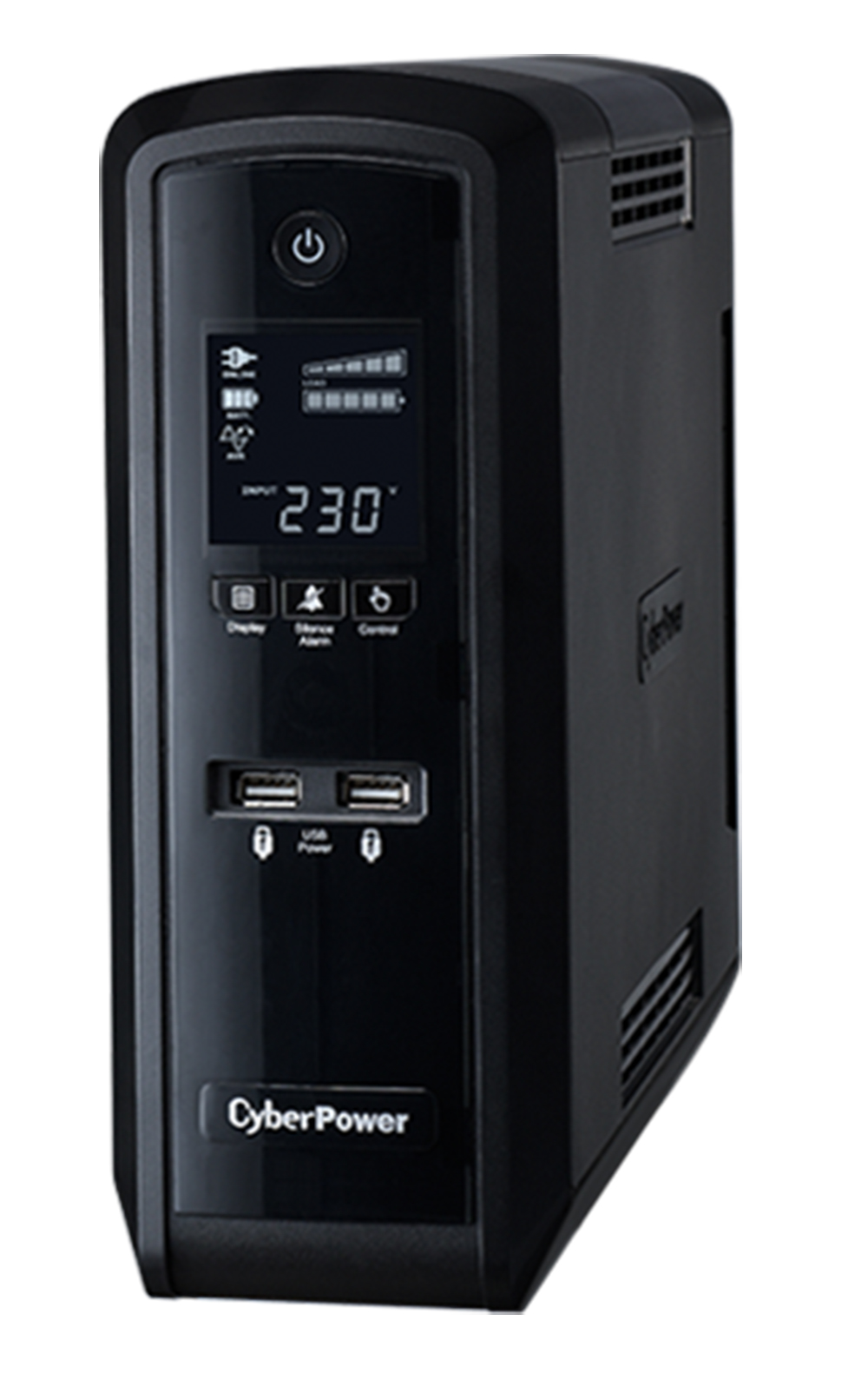 CyberPower PFC Sinewave Series 1500VA/900W (10A) Tower UPS with LCD and 6 x AU Outlets