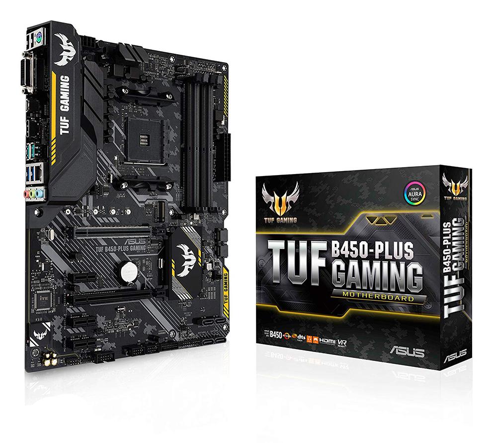 Asus TUF B450-PLUS Gaming AM4 ATX Motherboard