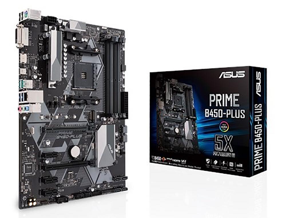 Asus Prime B450-PLUS AM4 ATX Motherboard