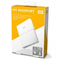 Western Digital My Passport 2TB Thin White 2.5In USB 3.0