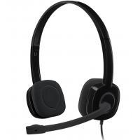 Logitech H151 Headset - Black