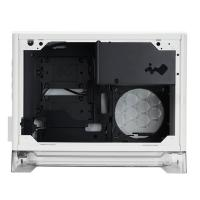 Inwin A1 Tempered Glass RGB Mini-ITX Case with 600W PSU and Qi Charger - White