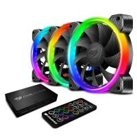 Cougar 120mm Vortex RGB Fans + Controller Cooling Kit