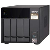 QNAP TS-473-4G 4 Bay Diskless NAS, AMD RX-421ND 2.1-3.4 GHz, 4GB DDR4 RAM