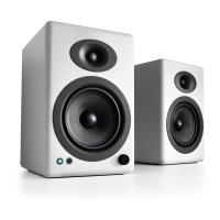 Audioengine 5+ Wireless Active Speakers - Gloss White