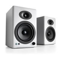 Audioengine 5+ Wireless Active Speakers - Gloss White