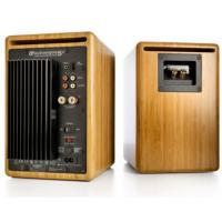 Audioengine 5+ Wireless Active Speakers - Solid Bamboo