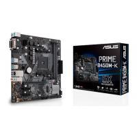 Asus Prime B450M-K mATX Motherboard