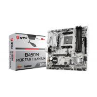MSI B450M Mortar Titanium AM4 mATX Motherboard