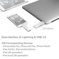 Silicon Power 128GB USB3.0 Z30 for iPhone/iPad/iPod(MFi certified)