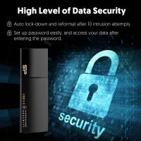 Silicon Power 16GB USB3.0 Secure G50,Hardware Security, AES 256-Bit Encryption-Black
